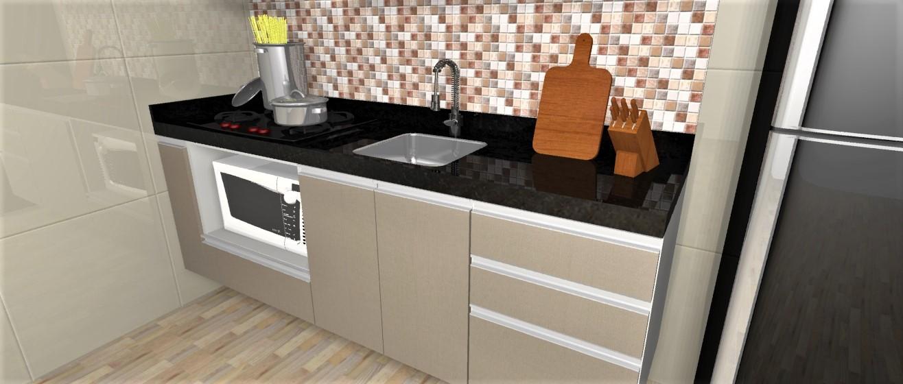 Cozinha Planejada Com Granito Apenas R 645000 Em 10x Sem Juros